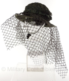 Tactical Concealment Sniper boonie hat SLA Schutter Lange Afstand OD GREEN - one size - origineel Nederlands leger issue!