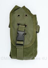 US Army en Defensie single magazin pouch M4 M16 en Diemaco - groen MOLLE - 22,5 x 12,5 x 1,5 cm - origineel