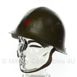 M1936 type C bulgaarse helm met rode ster - origineel