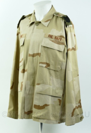 Korps Mariniers RNL navy desert jas voor internationale missies - maat large-regular - Origineel