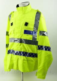 Britse Politie Northumbria summer jacket High Visability Community Support Officer - met portofoon houders - nieuw - maat 3XL Regular - origineel