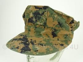 USMC Marpat WOODLAND cover cap - zeldzame maat Large - origineel