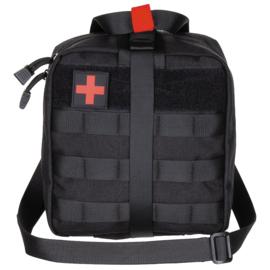 Medische tas geneeskundige dienst BLS IFAK Bag MOLLE - LARGE - 21 x 22 x 12 cm. - nieuw gemaakt - BLACK