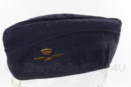 KLU Luchtmacht schuitje - donkerblauw - maat 57 - origineel