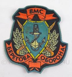 Russische kustverdedigings embleem BMC - 8 x 9 cm - origineel