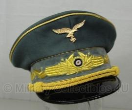 Luftwaffe Hermann Göring schirmmütze - gabardine - maat 56 tm. 60