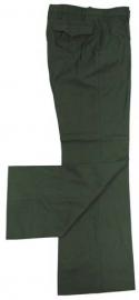 Duitse groene BGS uniform broek - Extra Small of Small - origineel