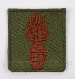 "KL Landmacht embleem ""Geoefend handgranaatwerper"" brons - afmeting 4,5 x 5 cm - origineel"
