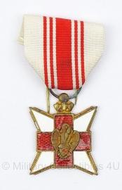 Belgische medaille van het Rode Kruis - origineel