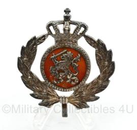 KMAR Koninklijke Marechaussee officier pet embleem - vorig model DT - 5 x 5 cm - origineel