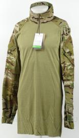 Nederlandse leger multicam UBAC underbody shirt met rits Crey Precision G3 Combat Shirt.  - nieuwste model - maat Medium Long - nieuw in verpakking - origineel