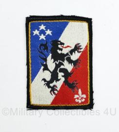 Franse leger embleem 3EME Corps D'armee - 8 x 5,5 cm - origineel