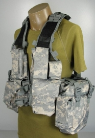 Tactical vest 12 pockets - ACU camo