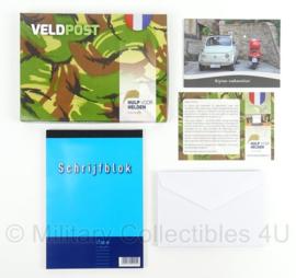 KL Landmacht  Veldpost set - Hulp voor Helden Stichting KPPR - afmeting 22 x 16 cm - origineel