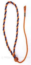 Prinses Irene Brigade landingskoord - oranje/blauw - origineel