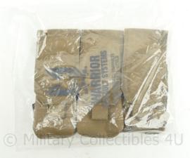 Warrior Assault Systems triple mag pouch Coyote pouch - 17 x 23 x 5 cm - nieuw in de verpakking - origineel