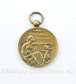 Nederlandse luchtbescherming 1940 1945 onderscheiding - 3 x 2 cm - origineel