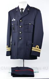 Korps Mariniers Barathea DT jas met broek met parawing - 2029 model! - rang Majoor der Mariniers - nieuw - maat 52 - origineel