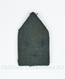 KL MILVA dames kraaginsigne patje  - 6 x 3,5 cm - origineel