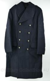 Korps Mariniers Bokker mantel Hedex 2002 - nieuw - 100% wol - maat 48 - origineel