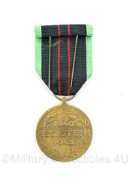 Belgische Resistere 1940-1945 medaille  - origineel