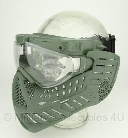 Masker met LED lampjes - Groen