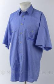 Overhemd Arriva buschaufeur - lichtblauw - korte mouw - maat 39/40 - origineel