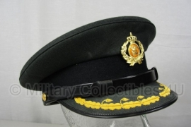 KL Nederlandse leger Hassing GLT DT2000 platte pet - voor Hoofdofficier (sergeant majoor en hoger) - maat 56 Hassing BV - origineel