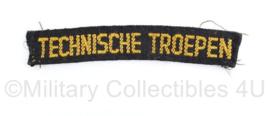 Nederlandse MVO straatnaam Regiment Technische troepen - origineel