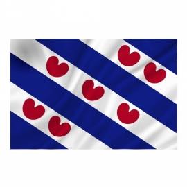 Provincie vlag Friesland - Polyester -  1 x 1,5 meter
