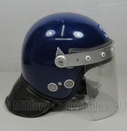 Police ME helm blauw - meerdere maten - origineel