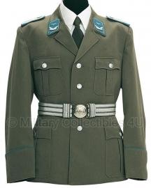 WO2 Duits model uniform MET insignes -  GRP  - blauwe bies - gabardine