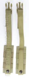KL landmacht en US Army Rhodesian Adap Mbav draagriemen set - afmeting 35 x 5 cm - origineel
