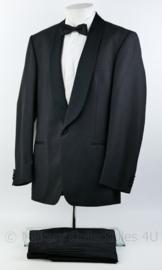 Heren kostuum jas, broek  en overhemd set - maat 54 - origineel