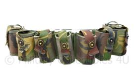 KL Woodland camo  bandoleer voor 10 stuks  40mm  granaten - nieuw -  origineel