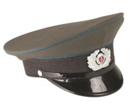 DDR pet Grijs met blauwe bies LSK  - 56 cm. - Gladde stof / gabardine - origineel