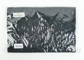 Nederlandse Brandweer huidig model wollen sjaal zwart - 174 x 30 x 0,2 cm - NIEUW in verpakking - origineel