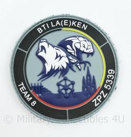 Belgische Politie embleem Team 8 ZPZ BTI LA(E)KEN - diameter 9 cm - origineel