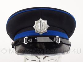 Gemeentepolitie platte pet officier - maat 54 - origineel