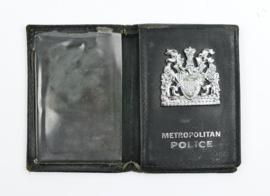Britse Politie brevet houder Metropolitan Police - 15 x 10 cm - origineel