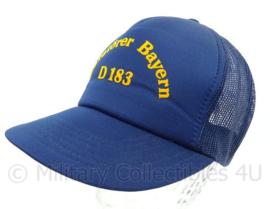 Duitse Bundesmarine baseball cap Zerstorer Bayern D-183  - one size - origineel