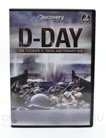 DVD box D Day  The Ultimate 70 years Anniversary box - Discovery channel - set 3 dvd's - speelduur 190 minuten