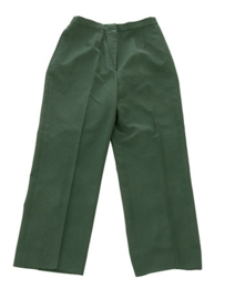 US Army Class A DAMES DT uniform broek groen Dress Green - maat Extra Small - origineel