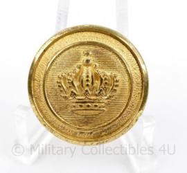 Marine scheepvaart knoop 25 MM goudkleurig - origineel