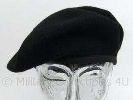 Brits model baret - zwart - maat 56 - nieuw - origineel