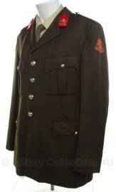 KL Nederlandse leger DT uniform jas 1982 - infanterie regiment Johan Willem Friso - maat 57 - origineel