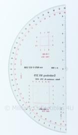 Nederlands leger gradenboog mx 3179 Radar installatie KL TPS 4742 - 14x29 cm - origineel