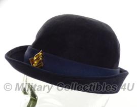 Nederlandse politie dames hoed met embleem - maat 56 - origineel