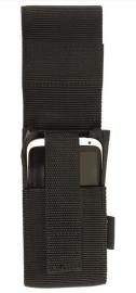 Security Smartphone, walky takly en vaste telefoon broekriem tas  - 15 x 7,5 cm. - zwart