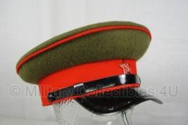 Russische WO2 pet - nagemaakt - rood - 58, 59 of 60 cm